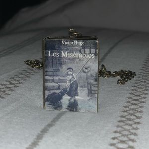 Jewelry - Les Miserables Book Locket Necklace